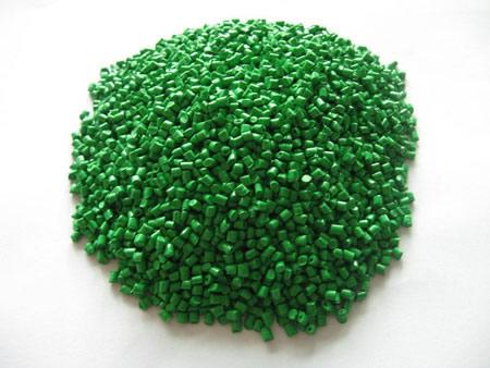 草绿色色母粒