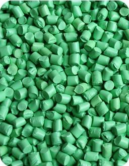 浅绿色色母粒