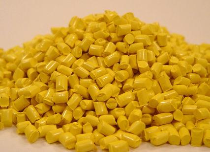 柠檬黄色色母粒