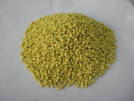 淡黄色色母粒